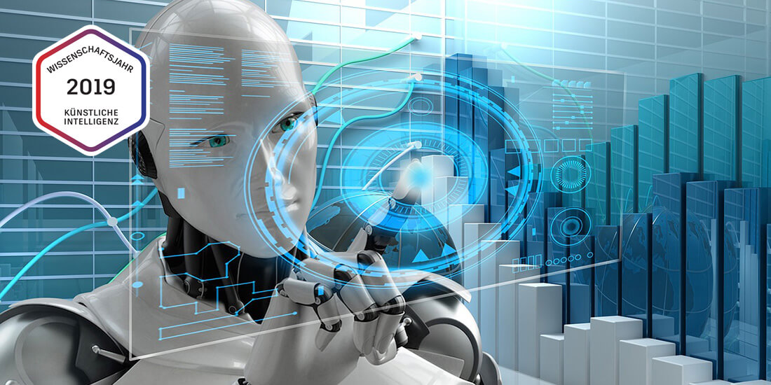 KI-Industrie-Roboter