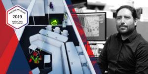 Mithilfe von VR liest ein Visualisierungsexperte die Gedanken der Architekten