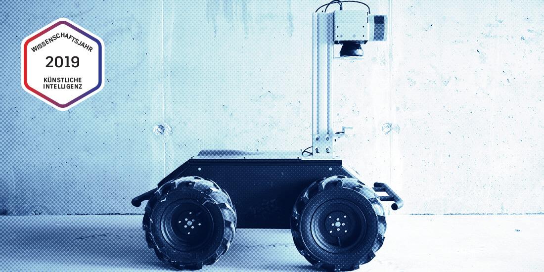Ein Bauroboter von Scaled Robotics. Mit freundlicher Genehmigung von Scaled Robotics.
