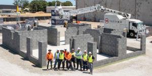 Ziegel für Ziegel: Wie ein Mauerroboter ein Haus in nur zwei Tagen erbaut