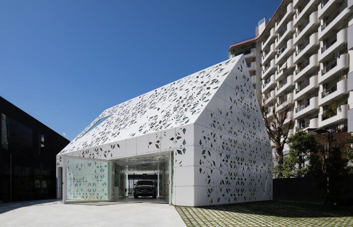 Das EQ-Haus ist zwei Jahre lang für Besichtigungen geöffnet. Mit freundlicher Genehmigung von Noboru Inoue.