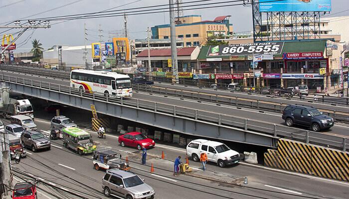 Modulare Brücke Mabey Überführung Philippinen