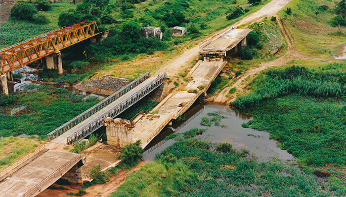 Modulare Brücke Mabey c200