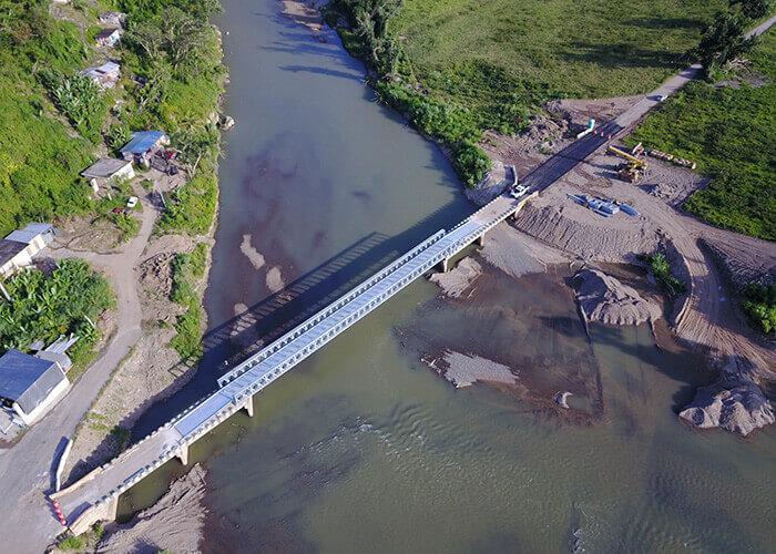 Modulare Brücke Rio Grande Puerto Rico