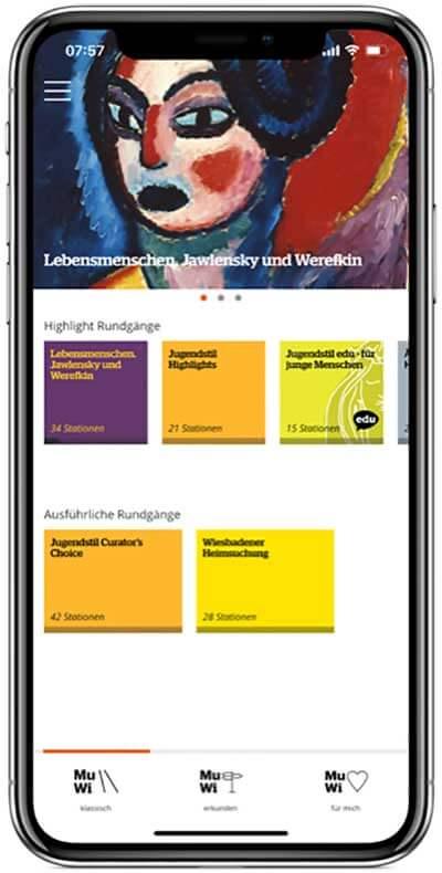 Museum Wiesbaden App