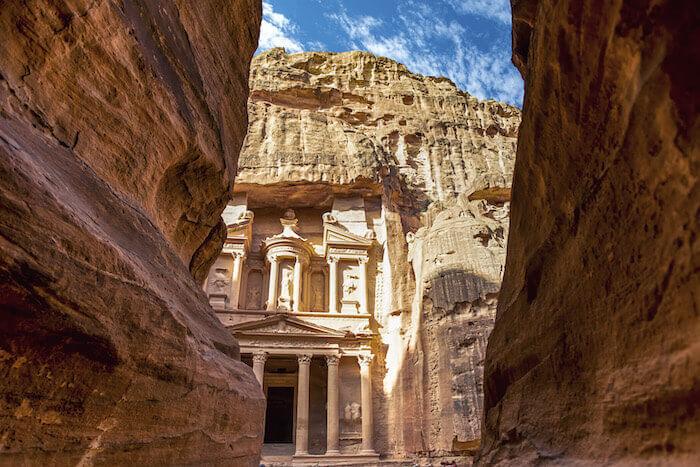 Petra im heutigen Jordanien