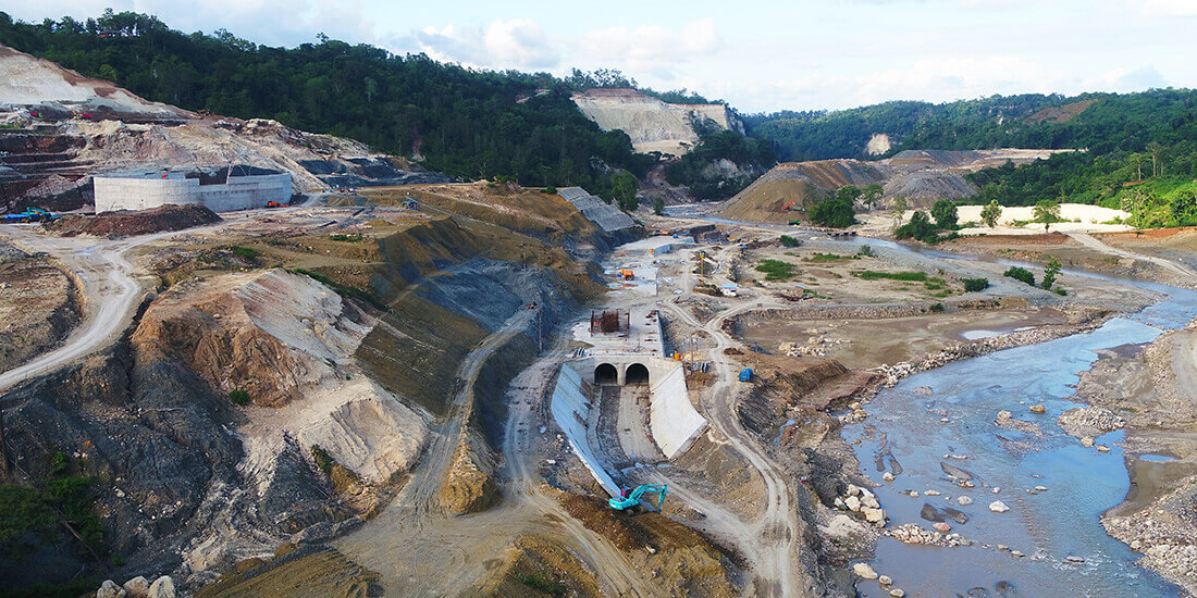 5d BIM Temef-Staudamm Indonesien