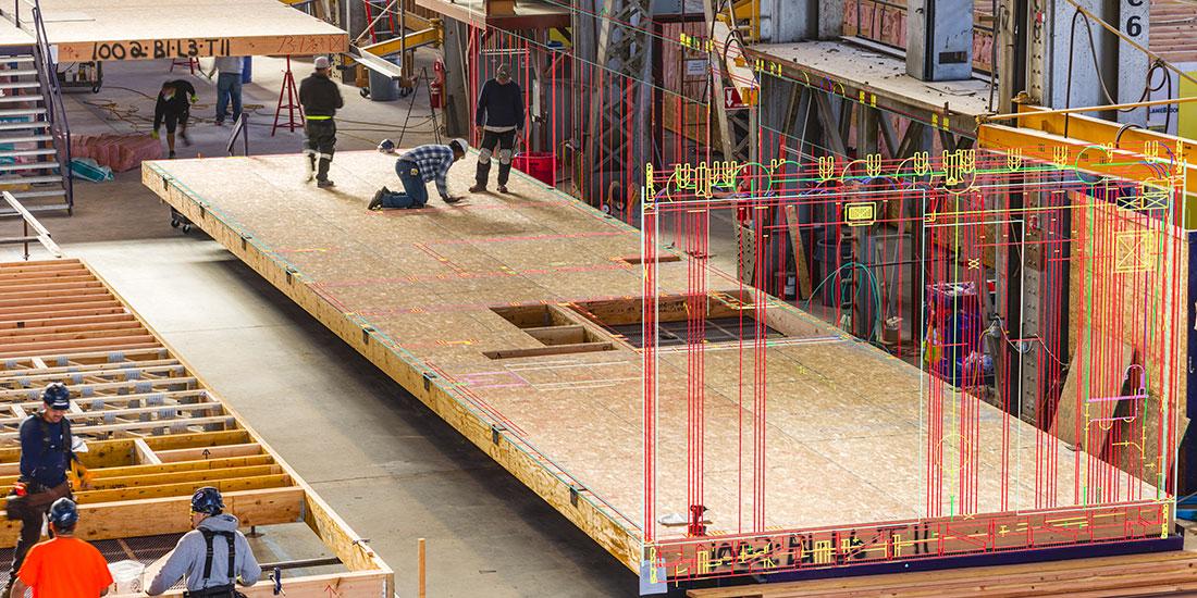 Industrialisierung im Bauwesen