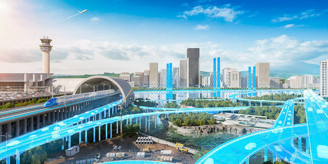 Smarte Straßen in eine vernetzte, intelligente und nachhaltige Zukunft
