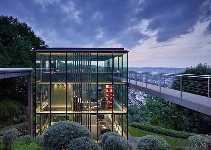 R128, das Stuttgarter Privathaus des Bauingenieurs und Architekten WernerSobek –hergestellt aus ökologischen Baustoffen.
