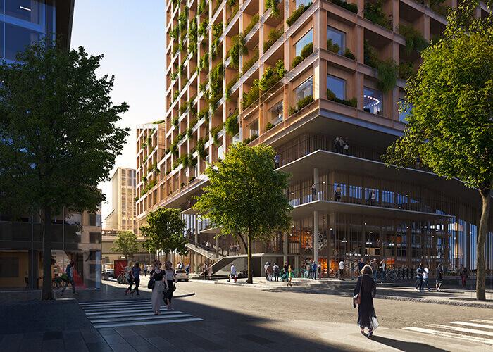 Skandinavische Architektur der Spitzenklasse: In Göteborg entstehtgeradeder größte Holzbau in Europa