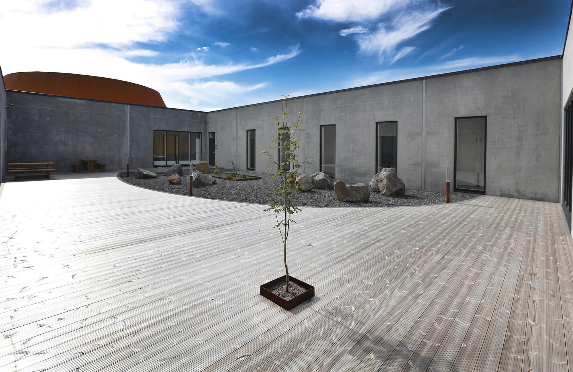 Nachhaltigkeit beim Bau einer Justizvollzugsanstalt– auch das schafft skandinavische Architektur.