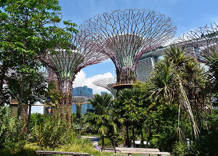 Singapur ist einer der Großinvestoren für nachhaltiges Bauen.
