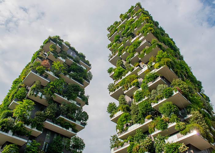 """Nachhaltigkeit und """"ökologisches Bauen"""" sind ein wesentlicher Bestandteil der Baubranche der Zukunft."""