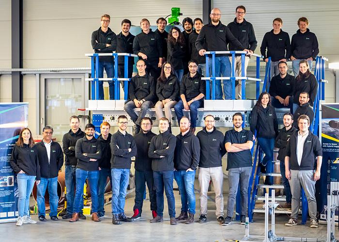 Das internationale Team von HyImpulse