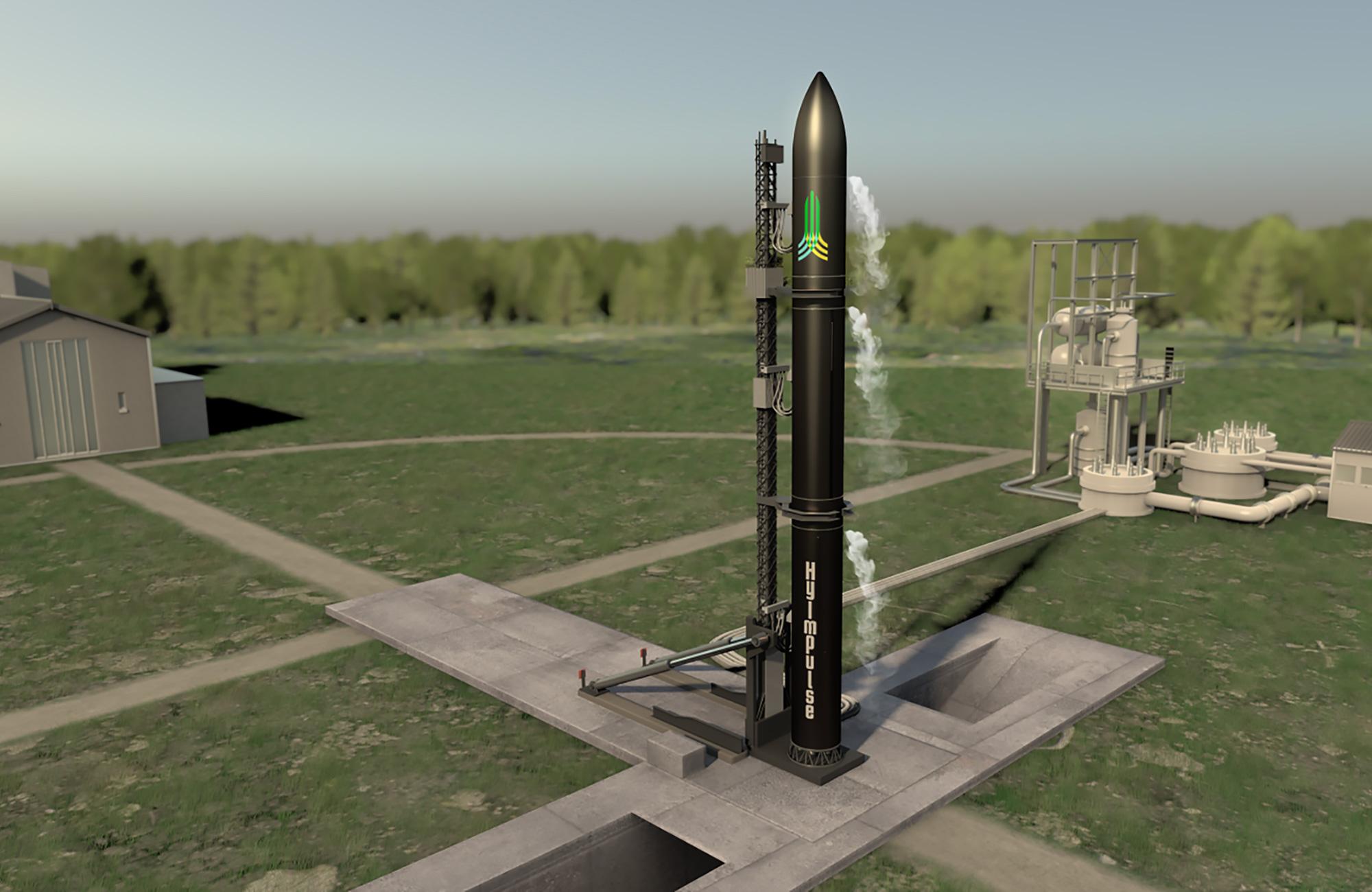 Die Kleinträgerrakete namens Small Launcher von HyImpulse