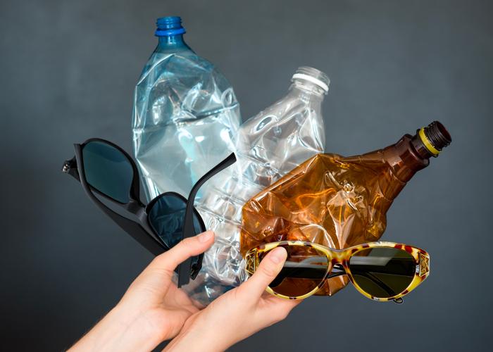 Yuma Labs bemüht sich um eine Recycling Sonnenbrille.
