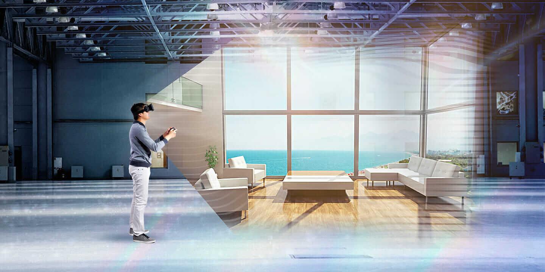 VR 建築