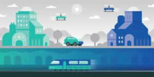 2050 年の都市:  データとテクノロジーが刺激する未来のメガシティ