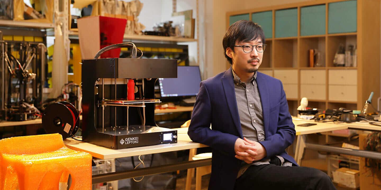 3D プリンター デザイン Genkei 加藤大直