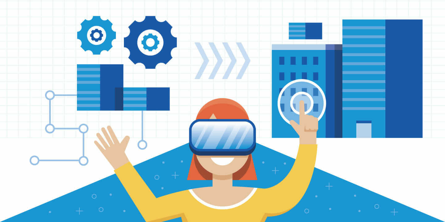 VR and AR header graphic