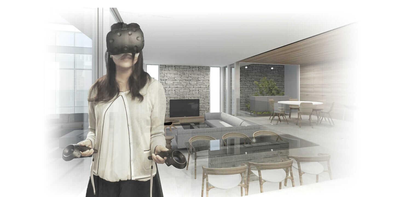 フリーダムアーキテクツの BIM を活用した住宅設計が VR 体験でさらに進化