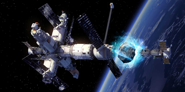 asteroid mining machinery - 1440×720