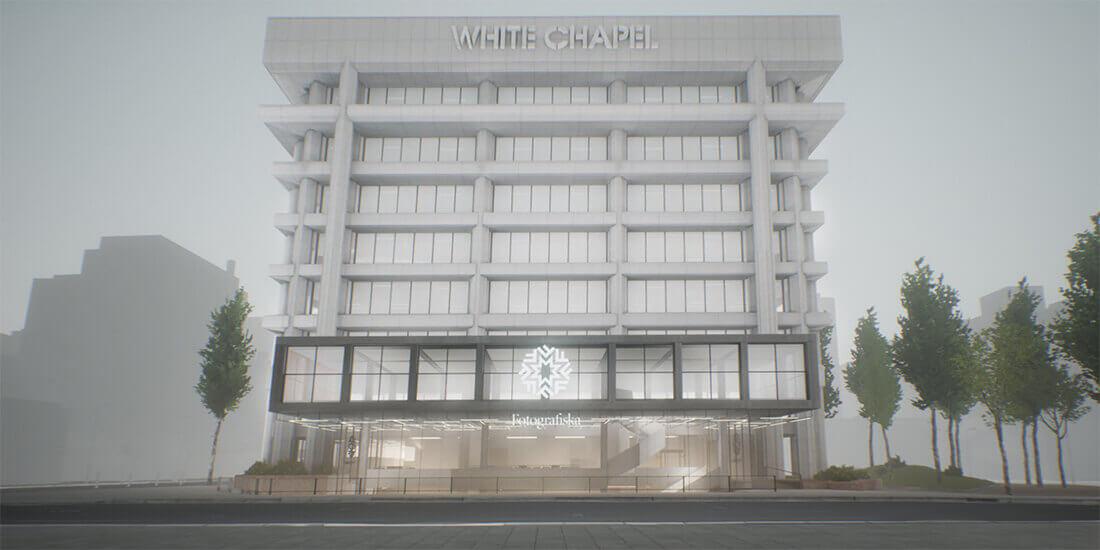 VR 建築 ホワイトチャペル フォトグラフィスカ