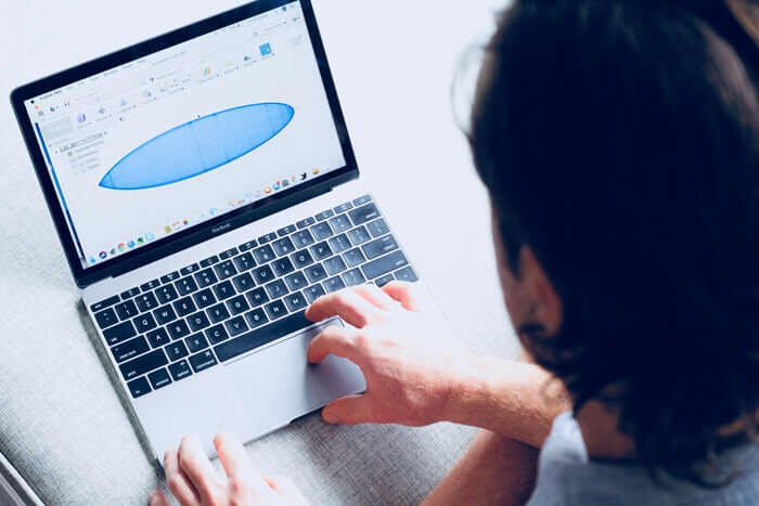 surfboard design Fusion 360