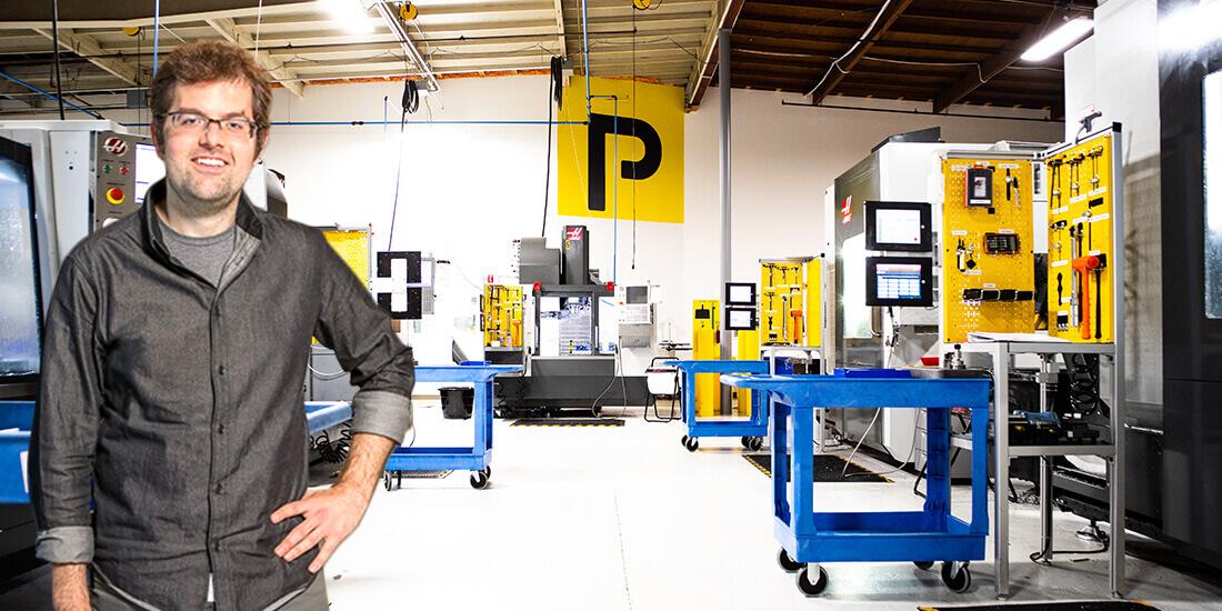 マイクロファクトリー Plethora のニック・ピンクストン CEO
