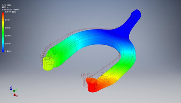 3 次元 設計 変位 解析