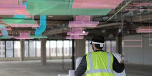ロサンゼルス国際空港のトンネルとコンコース建設をスマートグラスでクリアに