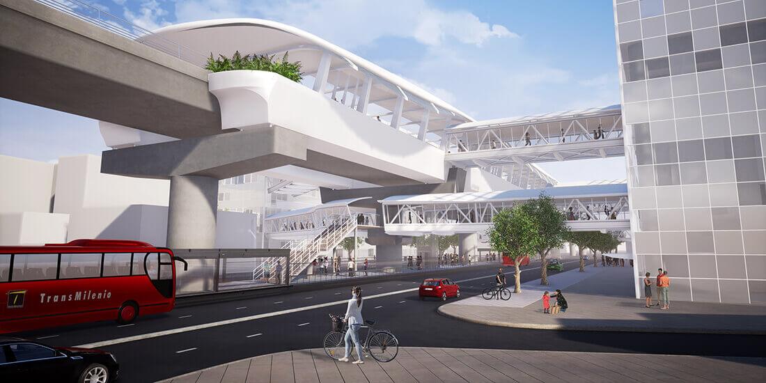 都市 交通 計画 ボゴタ メトロ