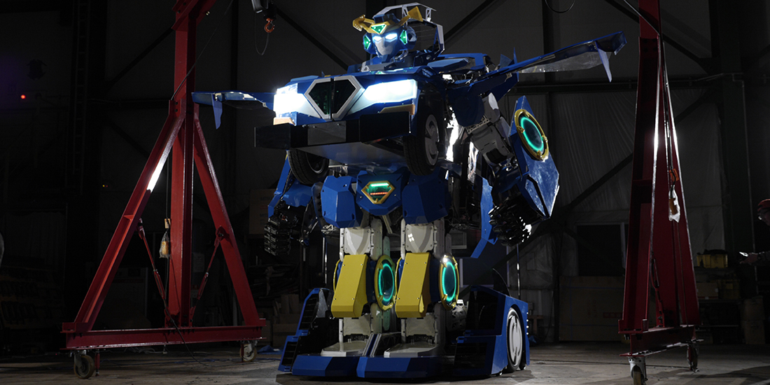 J-deite RIDE ロボット 制作