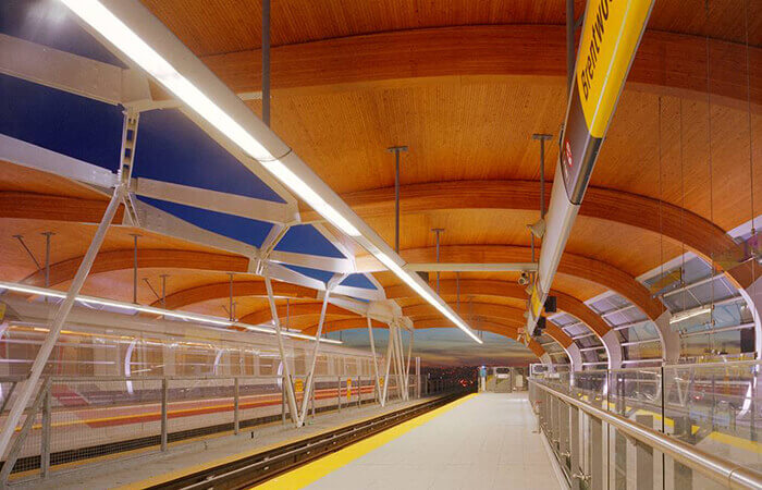 mass timber construction brentwood skytrain burnaby