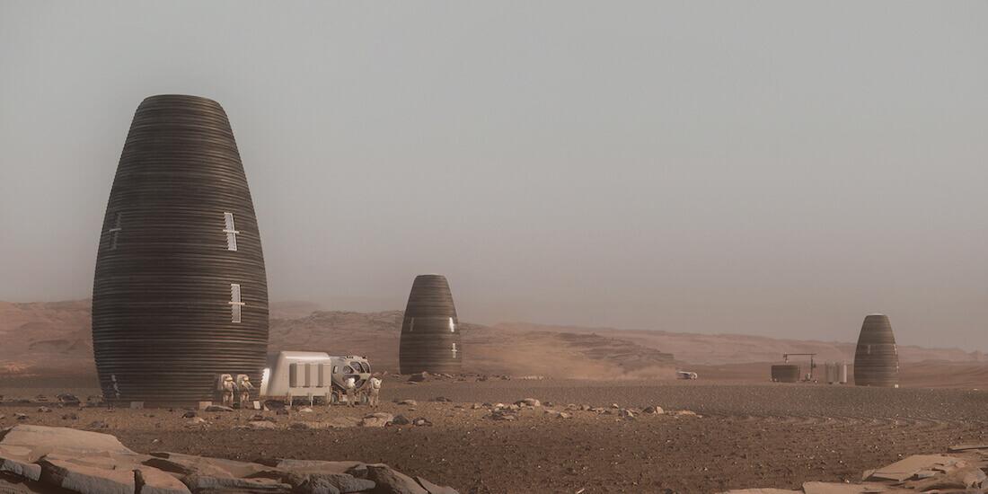 火星 住宅 ai spacefactory marsha 居住エリア