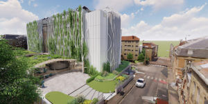 シャンパーニュ地方の古いビルを環境へ配慮してリノベーション