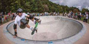 ロンドンの公共空間を描き変えるクールなスケートパーク計画