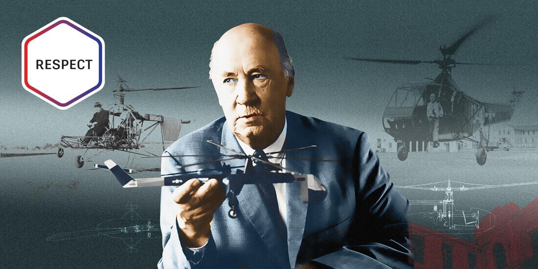 イゴール シコルスキー ヘリコプター