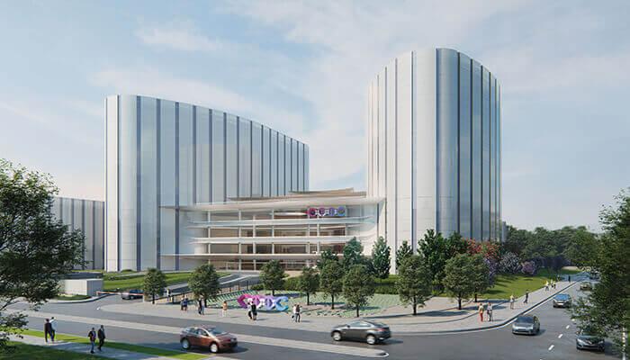 サステナブル 病院 デザイン CTIC タワー 肺の形