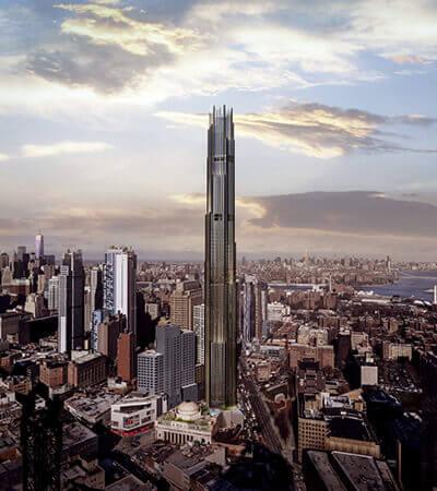 建築設計 vr 9 dekalb ブルックリン
