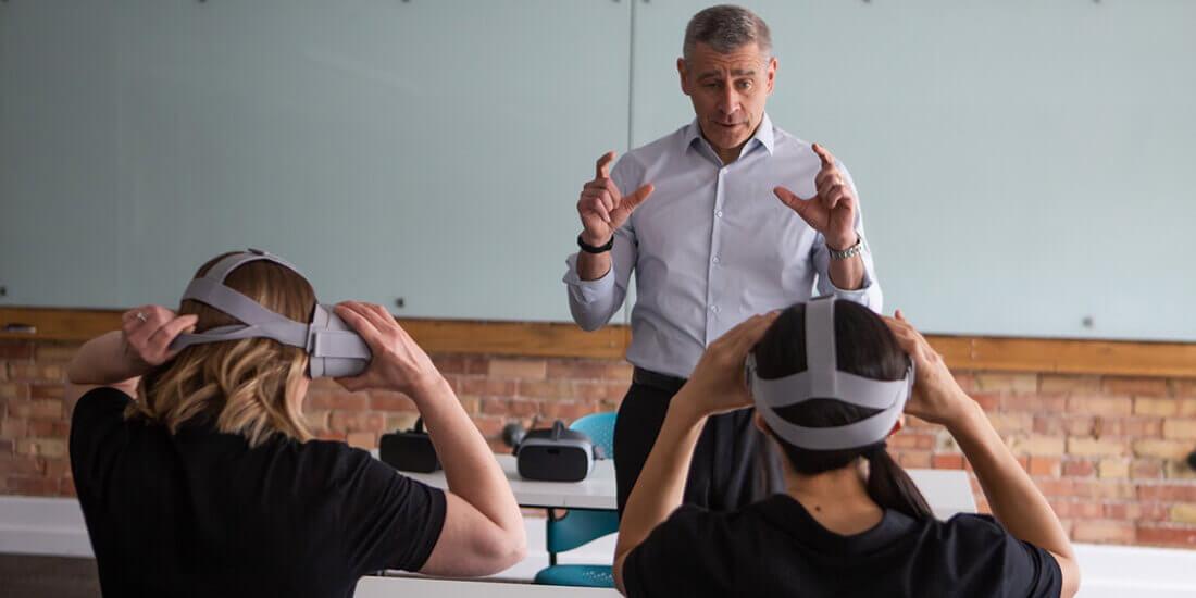 VR 研修 ソフトスキル トレーニング