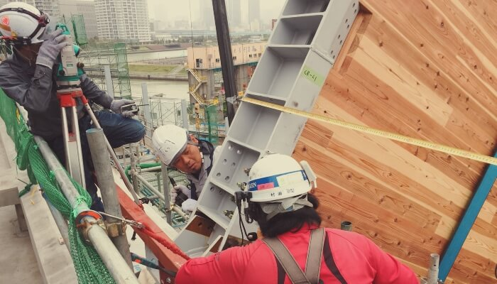 BIM コミュニケーション Rooflag CLT 屋根 施工