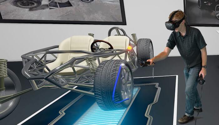 デジタル 変革 製造業 3次元設計 VR