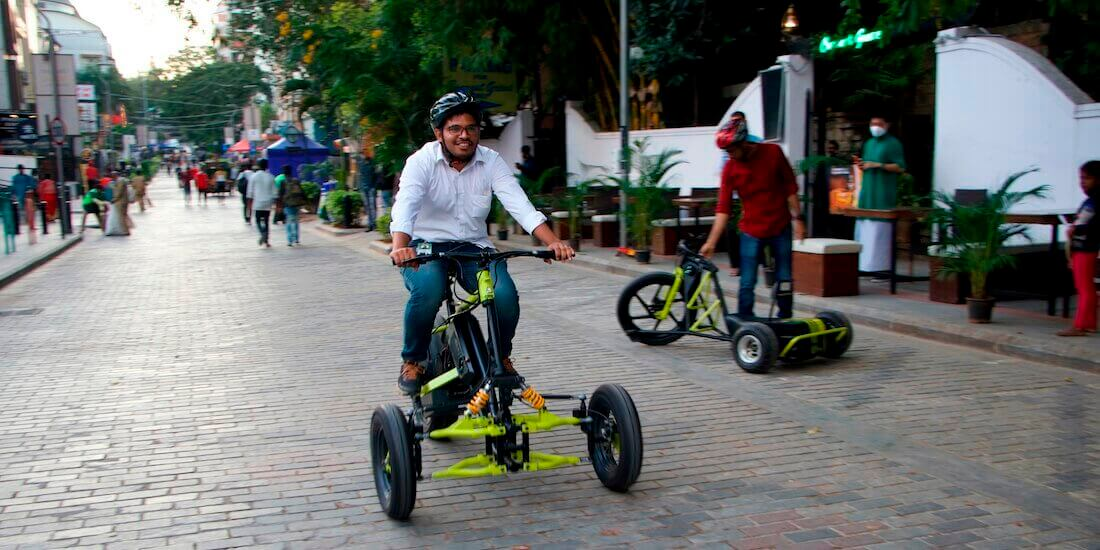 Greendzine LSEV Irrway NXP 500 electric trike