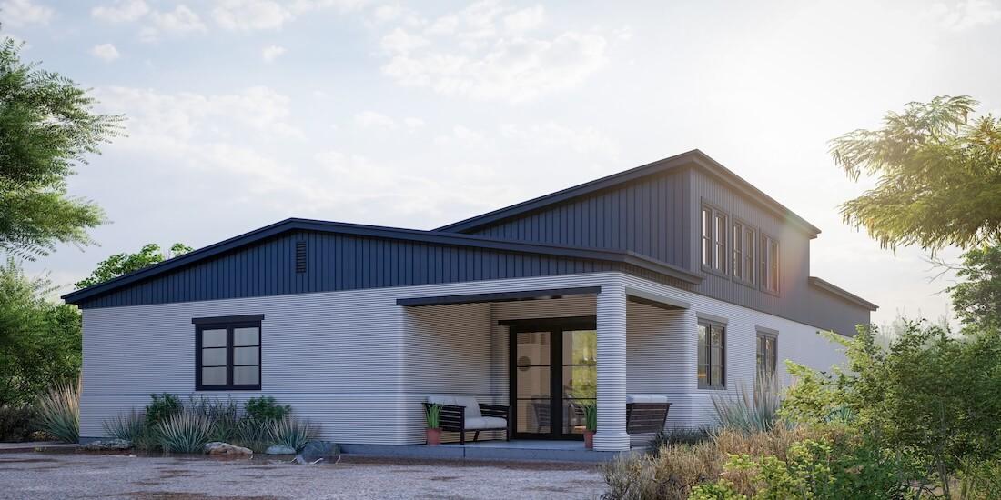 Candelaria Design Associates は Peri USA と連携してハビタット・フォー・ヒューマニティの住宅プランを 3D プリント テクノロジーに対応させた