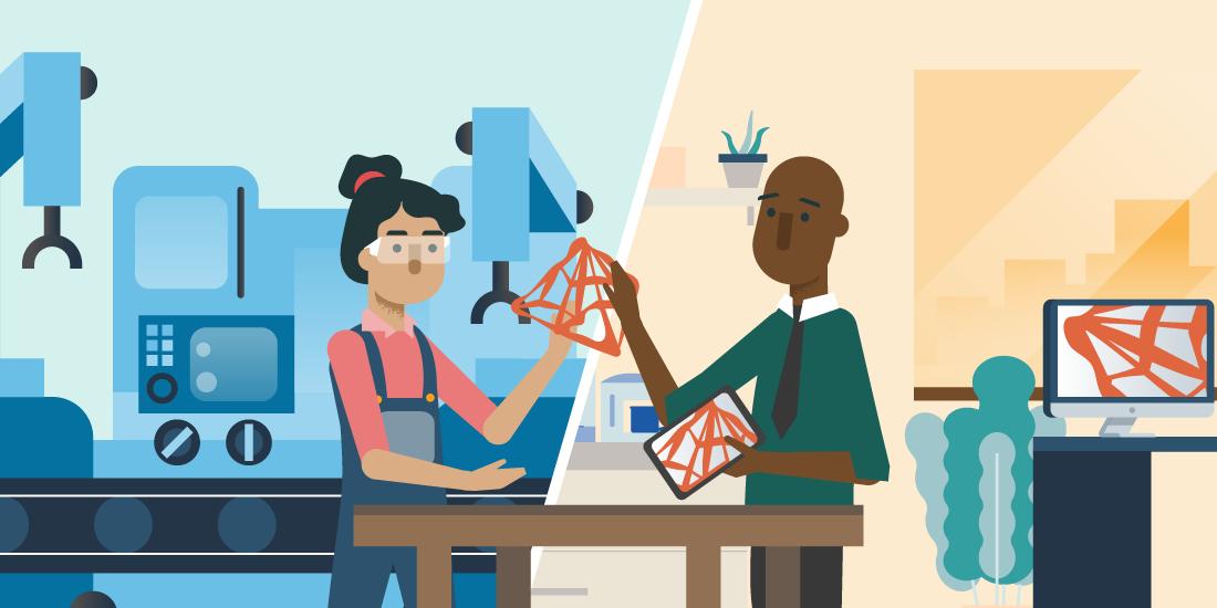 製造業のコンバージェンスは、デザイナーやエンジニアと現場の機械工との距離を縮めることができる