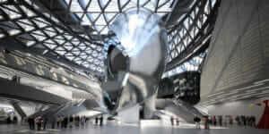 Wolf Prix évoque les robots de construction et la prudence de l'architecture d'avant-garde