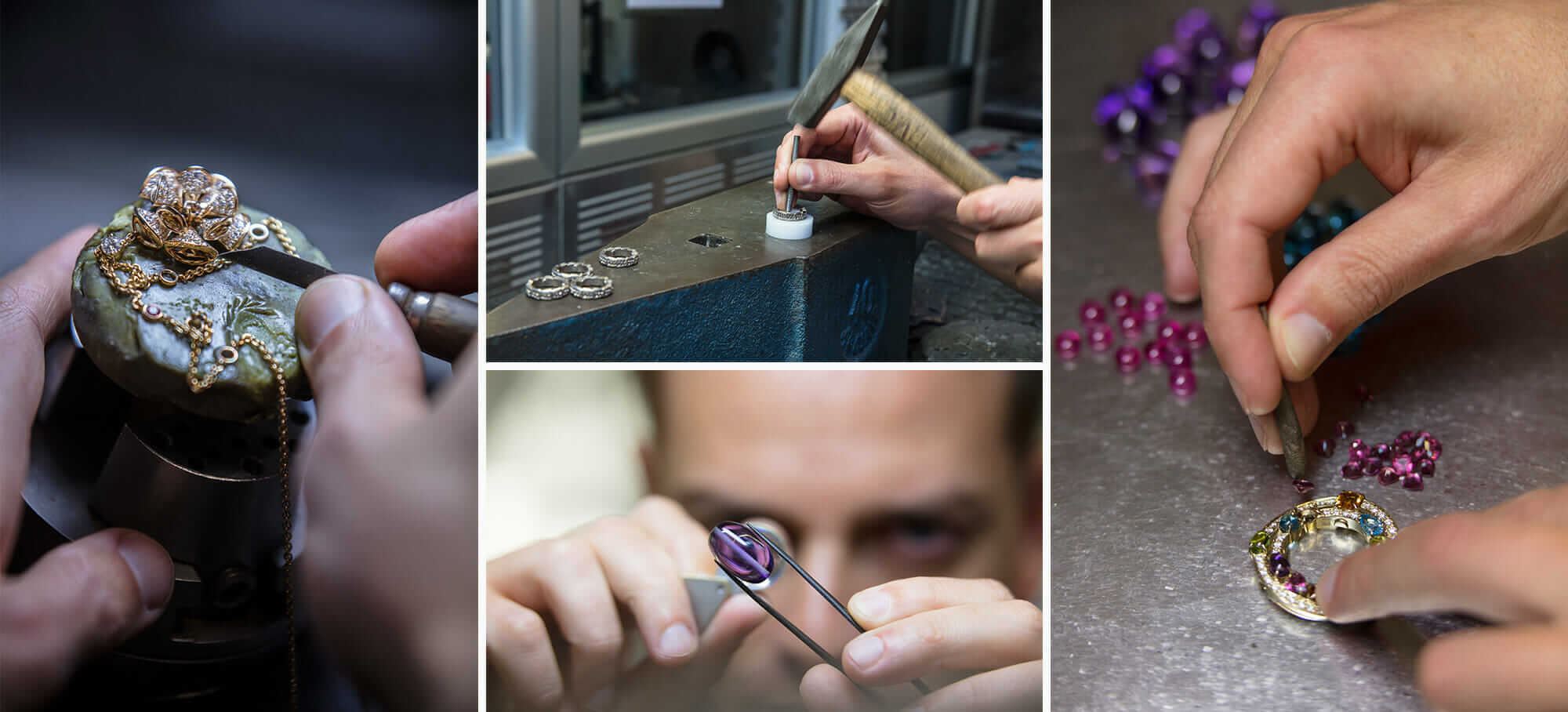 bulgari factory collage