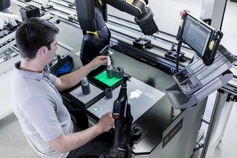 Bosch usine du futur transformation numérique